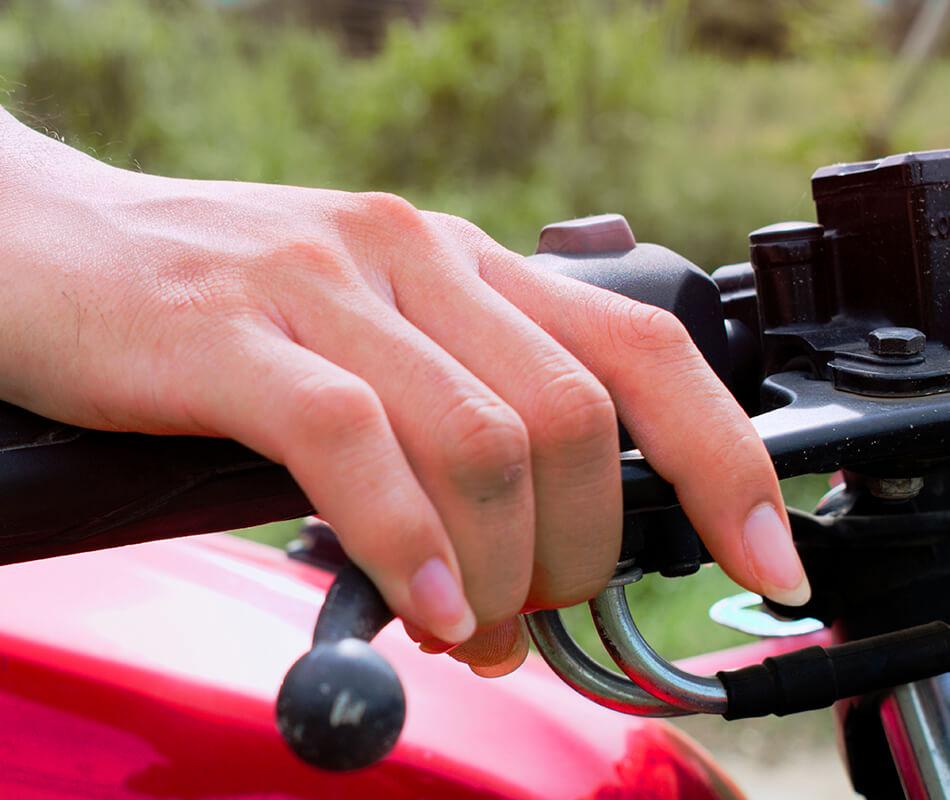 Problemas no freio a disco da moto