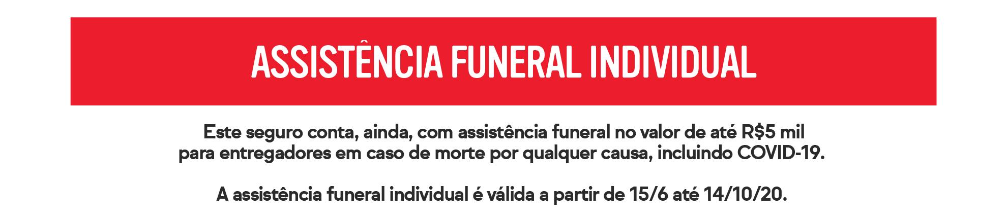 assistência funeral individual